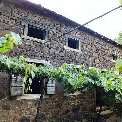 Casa de pedra colonial