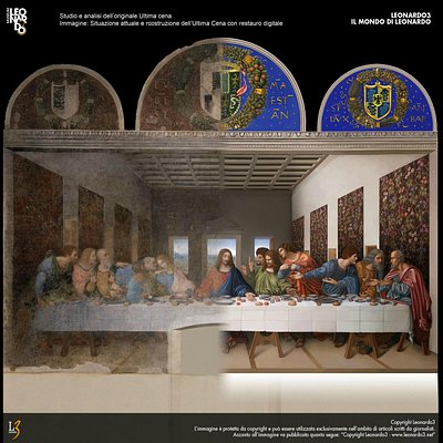 L'Ultima Cena restaurata - The Last Supper