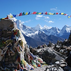 View from Labuche Everest