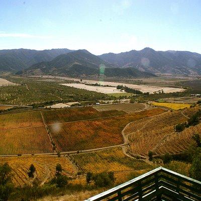 vista del valle de colchagua