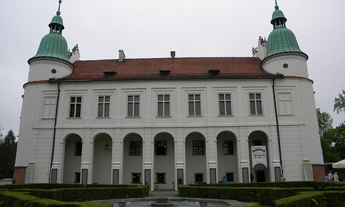Outside view of the castle