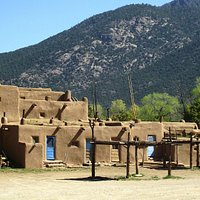 Taos Pueblo, a National Heritage Site
