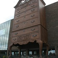 World's Largest Highboy Dresser