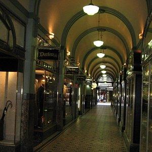 Inside Trinity Arcade