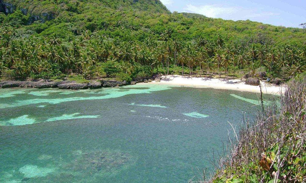 Panoramic view of Playa Madama