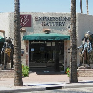 Front entrance-Expressions Gallery