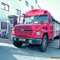 Bus de la Fondation Zinsou