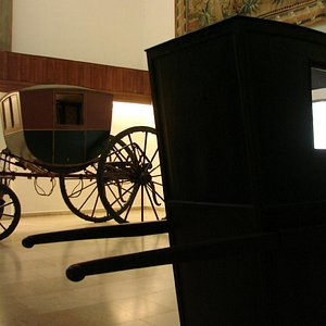 19th century Coach and Litter