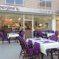 Aubergine's restaurant in ovacik