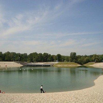 Bundek Park and lake