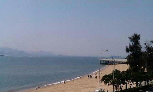 so close to the beach...
