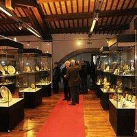 Un'altra veduta del museo delle ceramiche.