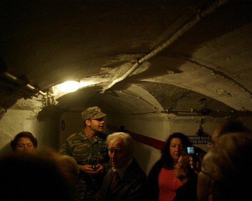 Escorted visit underground