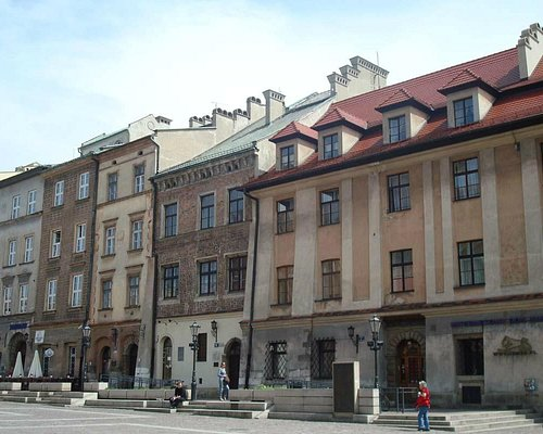 Buildings in the square