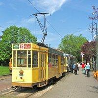 Heysel terminus on City Tour
