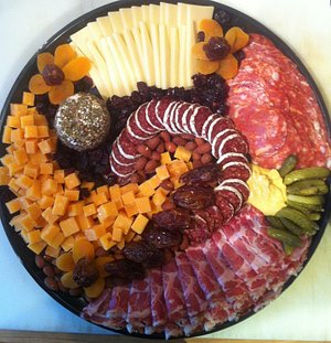 Cheese & Charcuterie platter from The Cheese Iron