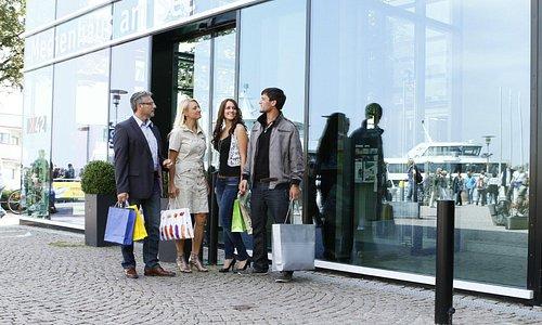Einkaufen im Bodenseecenter