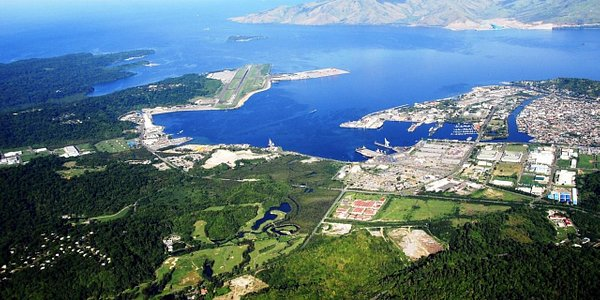 Aerial Shot of Subic Bay Freeport Zone