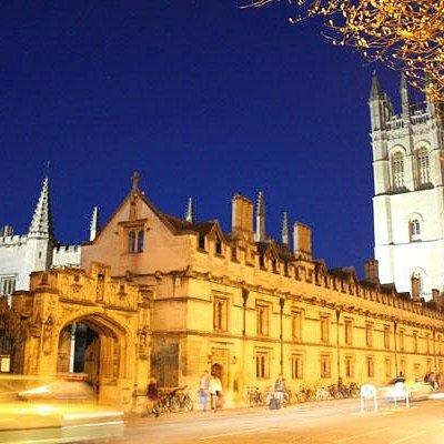Magdalen College Oxford, April 2013