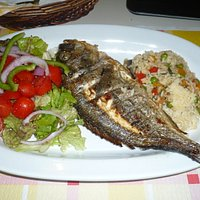 poisson frais grillé à prix trés très raisonnable
