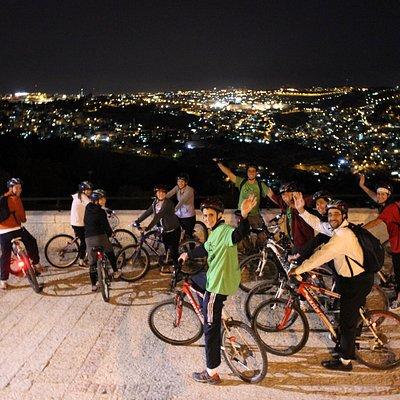 jerusalem midnight biking tour