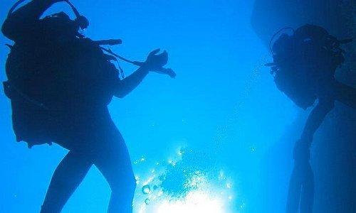 My Avlaki Creek dive, Paxos