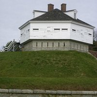 Blockhouse at Fort McClary State Historic Site, Kittery Point, ME