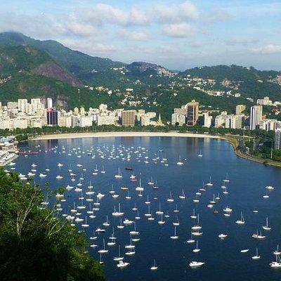 Praia de Botafogo, Vista da Urca