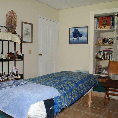 Spa Boquete massage and facial area.