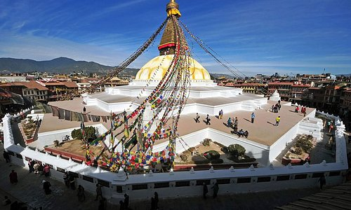 Boudhanath Stupa - Tour with Breakfree Adventures