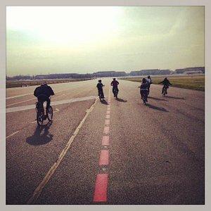 E-Bikes at Tempelhof