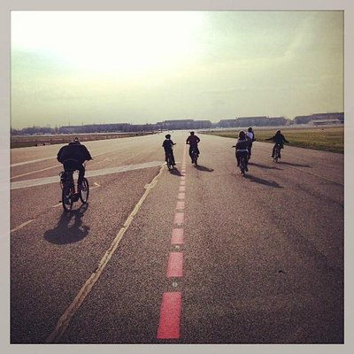 E-Bikes at Tempelhof