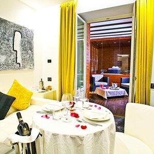 Private Dinner in Luxury Suite