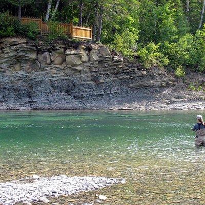 St-Jean River, Gaspe (Quebec)