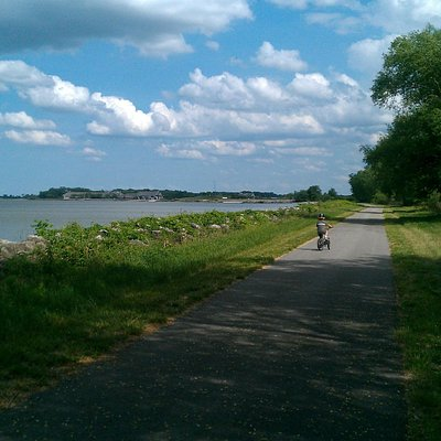 More of the bike trails.