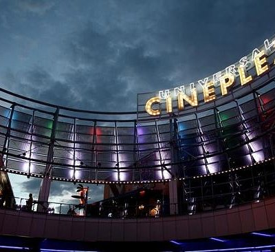 Universal Cineplex at Hangover 3 premiere night