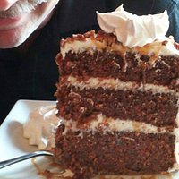 Bigger-than-your-head carrot cake