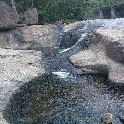 stream in the upper