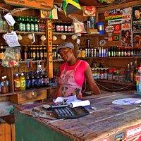 Tamara, the friendly store keeper and hostess