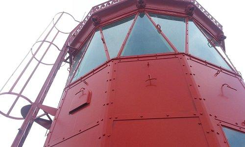 Le haut du phare