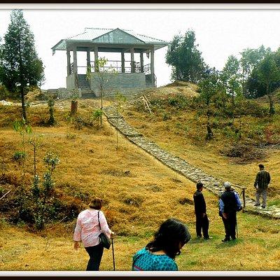 Log hut at Golitar
