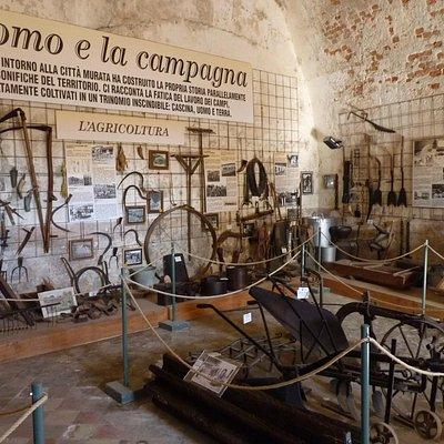 L'interno del museo
