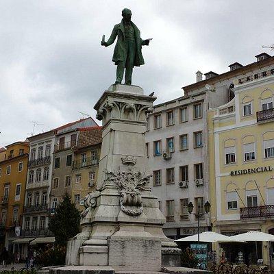Largo da Portagem, Coimbra.