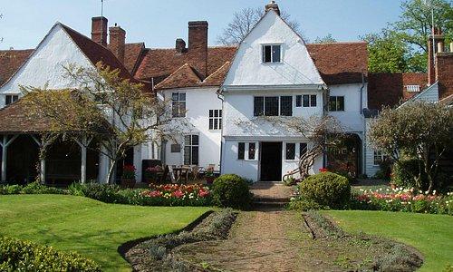 Paycockes - rear entrance and garden