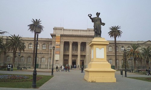 Santiago de Chile, Quinta Normal. Museo Nacional de Historia Natural.