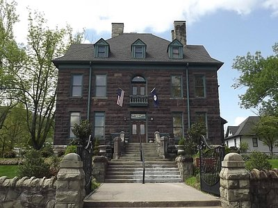 Former mansion, now museum