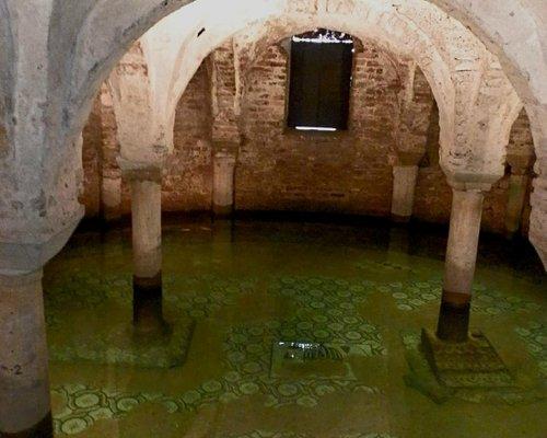 Flooded crypt of San Francesco Ravenna