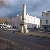 The Wills Monument, the Plains Totnes.