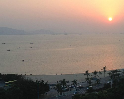 Sunset at Baicheng beach