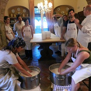 Cheese making lesson